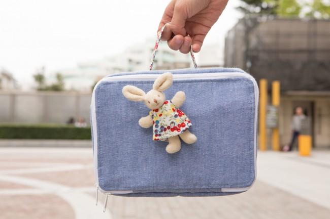 トラセリアのおむつバッグは、ブロッサムでも売れ筋です♪