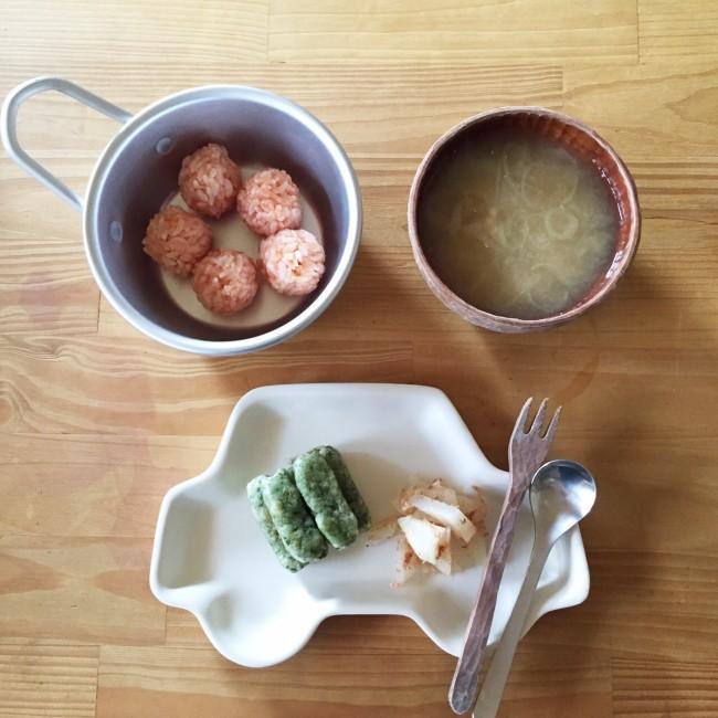 食べ合わせメニューも考えて♡ カブのおかか和え、長ネギとひきわり納豆のお味噌汁