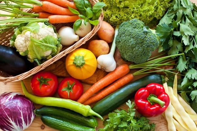 鮮やかな色の野菜たちから、自然のパワーをもらいましょう!