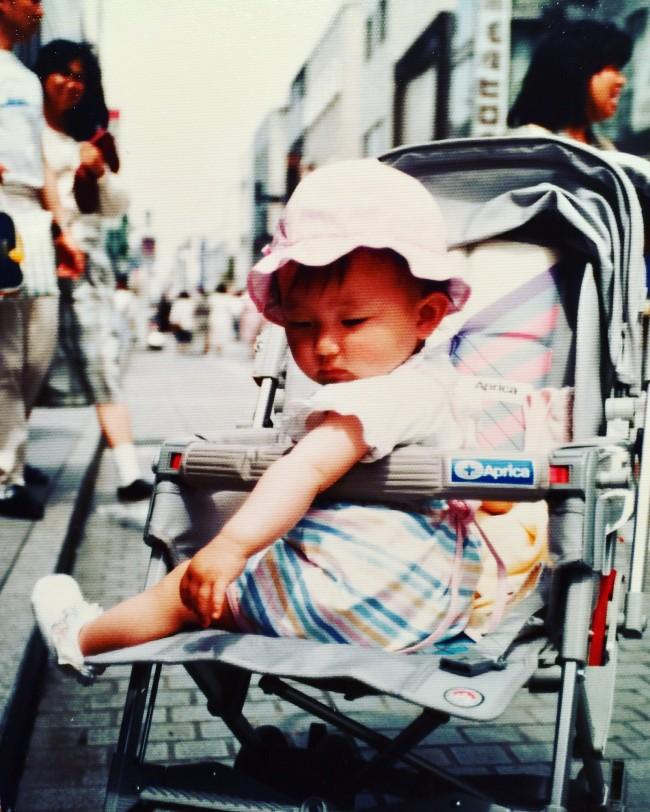 私の母は、アップリカのベビーカーを選んだときのことや、私を乗せていたときのことを鮮明に覚えていて驚きました