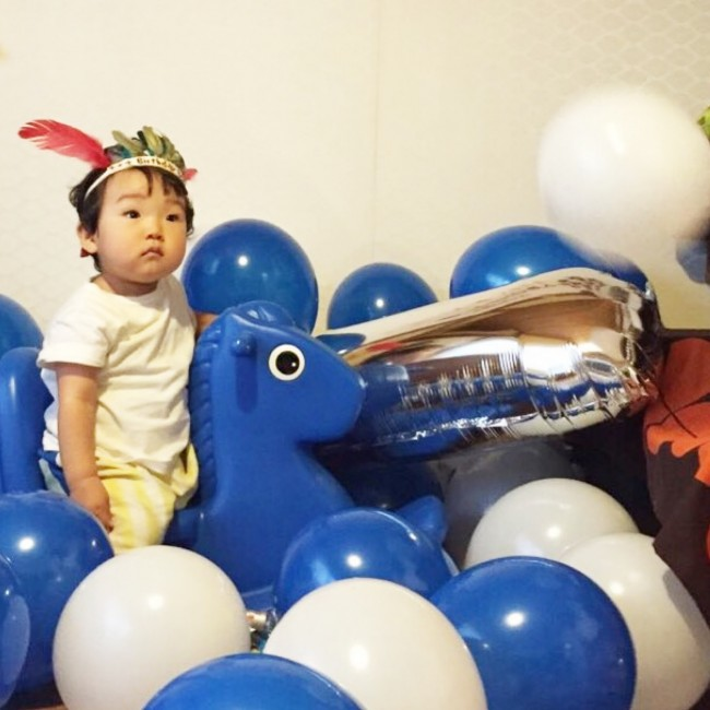 すくすく大きくなーれ! みなさんも、1歳のお誕生日は、素敵な思い出にしてくださいね♡