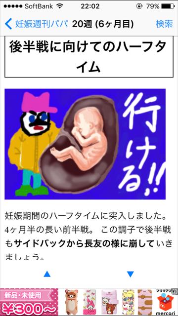 パパ向けに分かりやすく、おもしろく、ママの体と赤ちゃんの様子を解説しています
