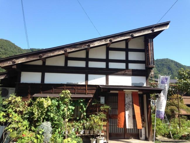 こちらは八海山茶屋! 趣のある建物です