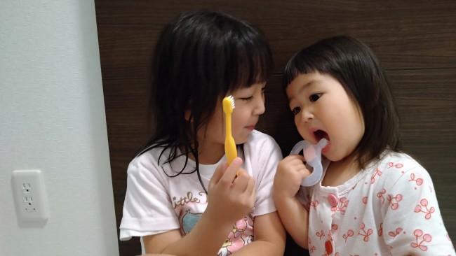 我が家の次女の歯ブラシデビューについてお話しします♪