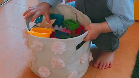 《オムツやおもちゃの収納法!》かわいくて優秀なストレージ見つけた♡