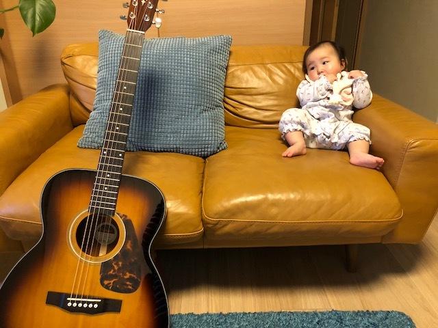 いまは、娘にも演奏を聴かせています。妊娠を機に、始めてよかったと思います!