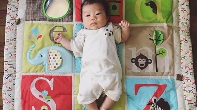 《生まれたら、記念に作ろう♡》手形・足型・赤ちゃん筆…♪ メモリアルアイテム、こんなもの作りました
