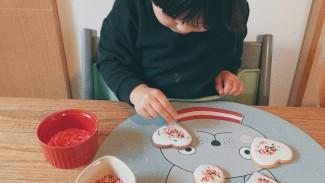 《おうち時間をもっと楽しく!》食事にも遊びにも♪  まあるくって可愛いプレイスマットが大活躍!