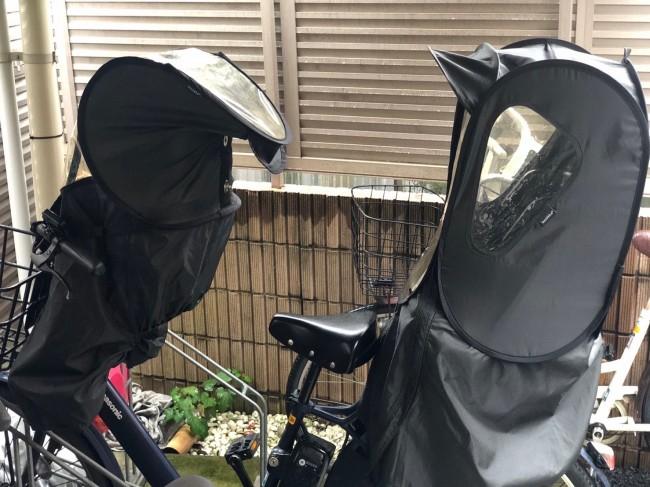 ママ友たちの間でも、自転車のレインカバーはノロッカがオススメ!との声が多数♪