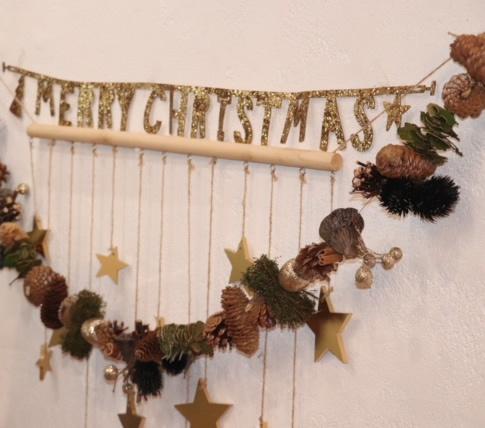 クリスマスシーズンだったので、可愛い飾り付けが