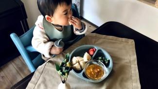 《子どもの食べたい気持ちに寄り添う♪》いつもの食卓をおしゃれに彩る、シリコンミールセットが新登場♡