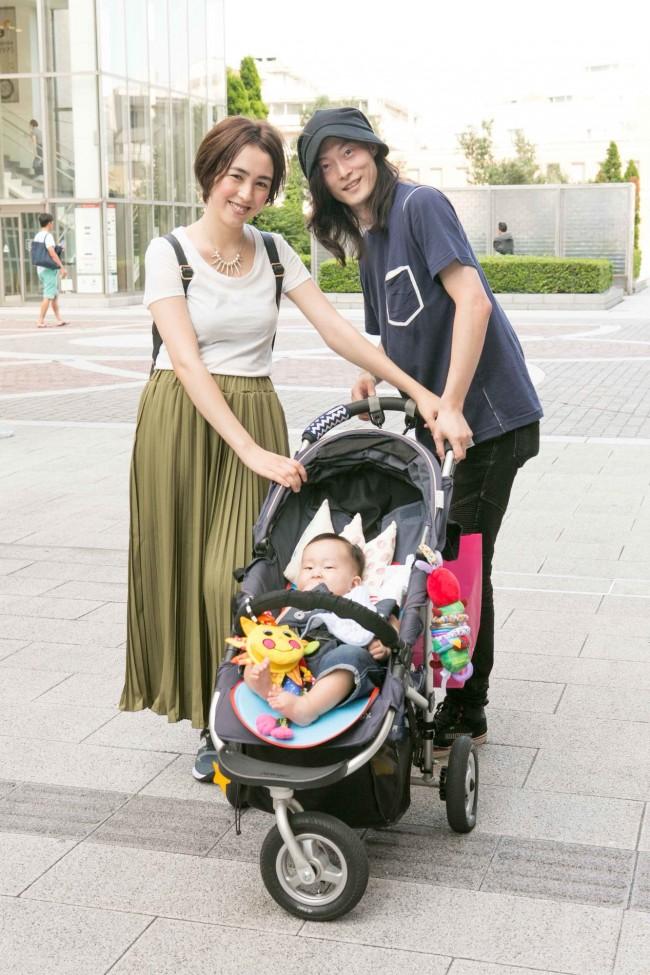 しげのたくさん、マイザマユミさん、ロンくん(6ヶ月)