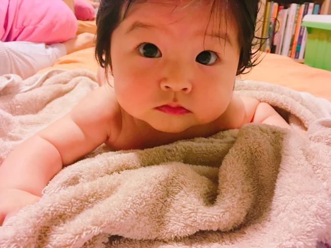 お風呂あがりはバタバタしがちですが、しっかり準備しておけばママも赤ちゃんも楽々です