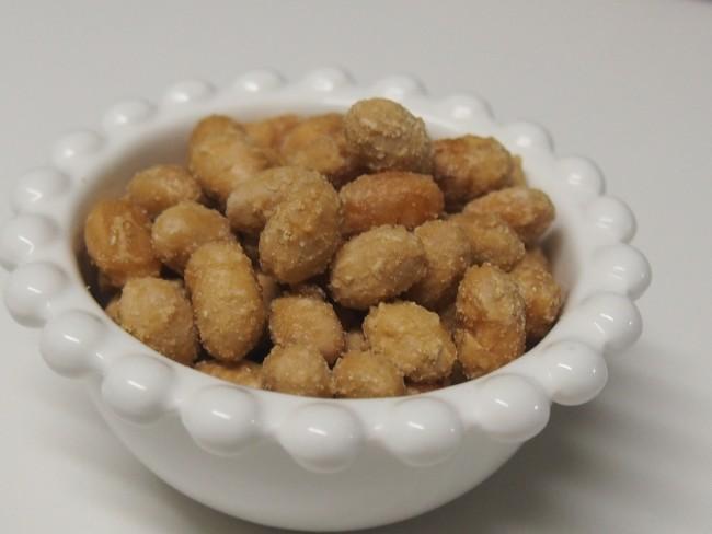 栄養価も高い大豆が、とっておきのおやつに! くるみやナッツでもおいしく食べられます。