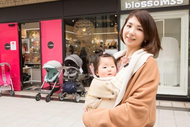和ちゃんのお洋服はZARA kidsがお気に入り。ママとお揃いが着られる日も近いですね♡