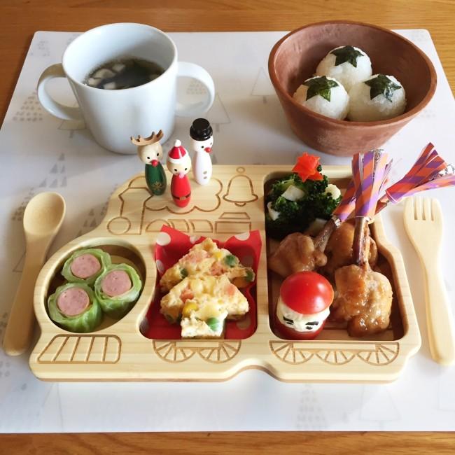 竹素材のお気に入りプレートで、楽しいディナータイムを!