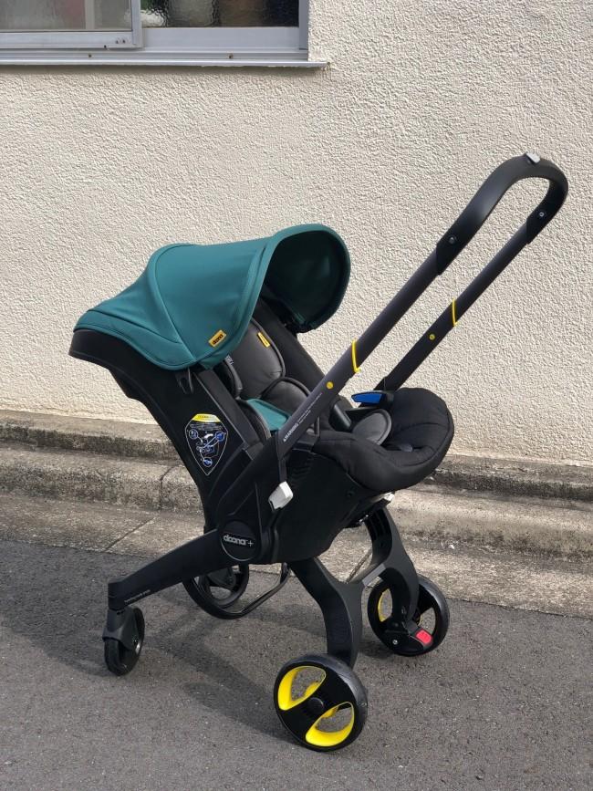 新生児から使える対面式シートのベビーカーが…