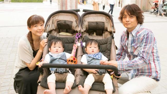 【family snap!】双子ちゃんお気に入りは、パシフレンズのおしゃぶり♡