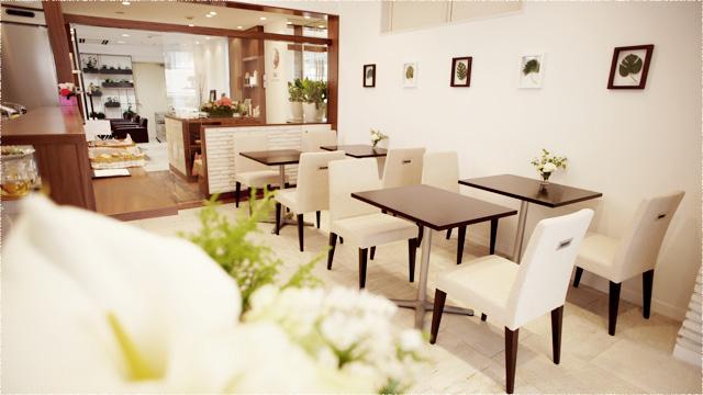有機野菜やくだものを使ったベジスイーツが人気のカフェ