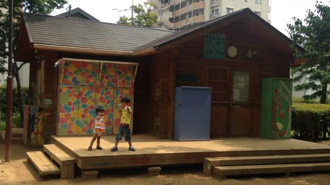 《夏休みちょこっとおでかけ》子どもがめいっぱい遊べる!!「冒険松原あそび場」へ行ってきました